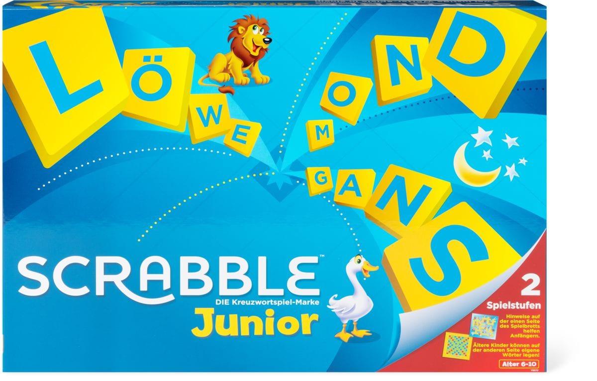 scrabble junior mattel instructions
