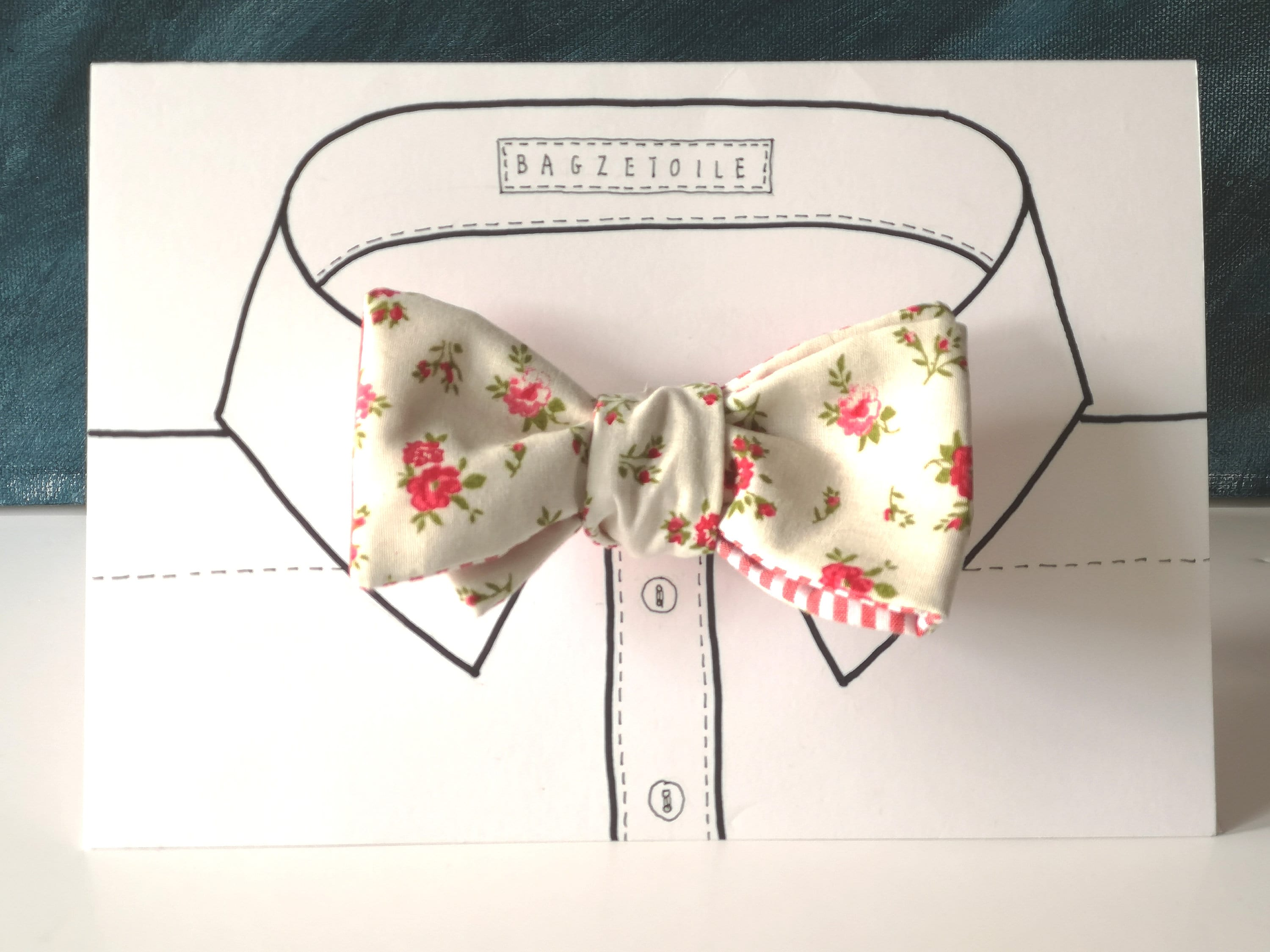 self bow tie instructions