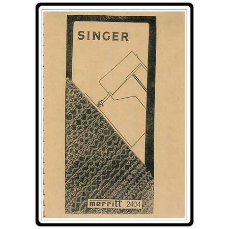 singer 99 instruction manual