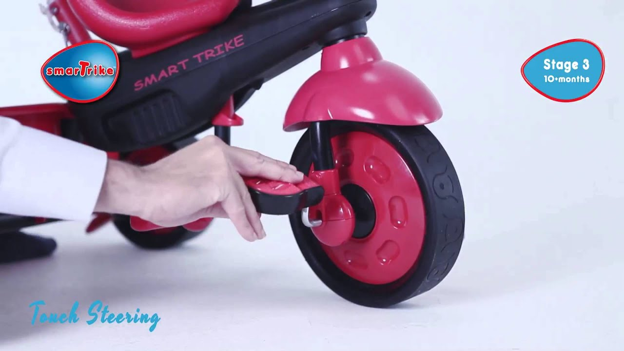 smart trike touch steering 4-in-1 safari ride on instructions
