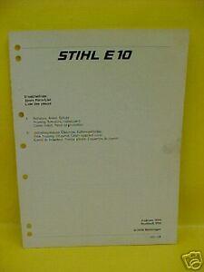 stihl ms 440 instruction manual
