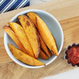 sweet potato wedges cooking instructions