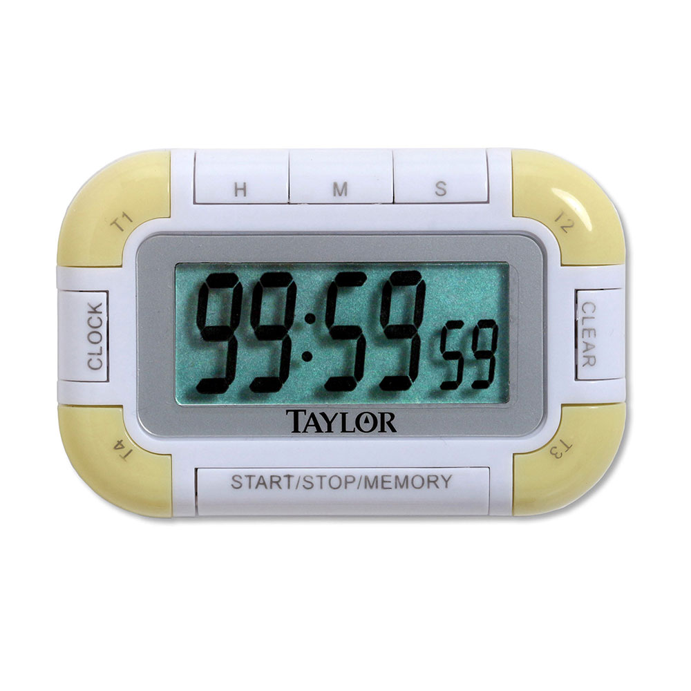 taylor mini digital timer instructions