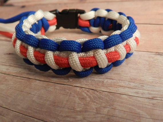 three color paracord bracelet instructions