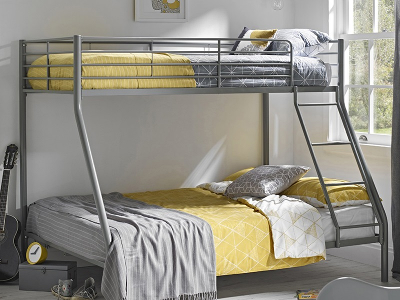 trio bunk bed instructions