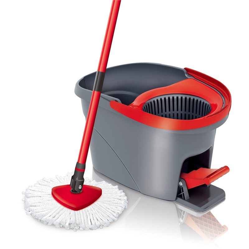 vileda easy wring and clean spin mop instructions