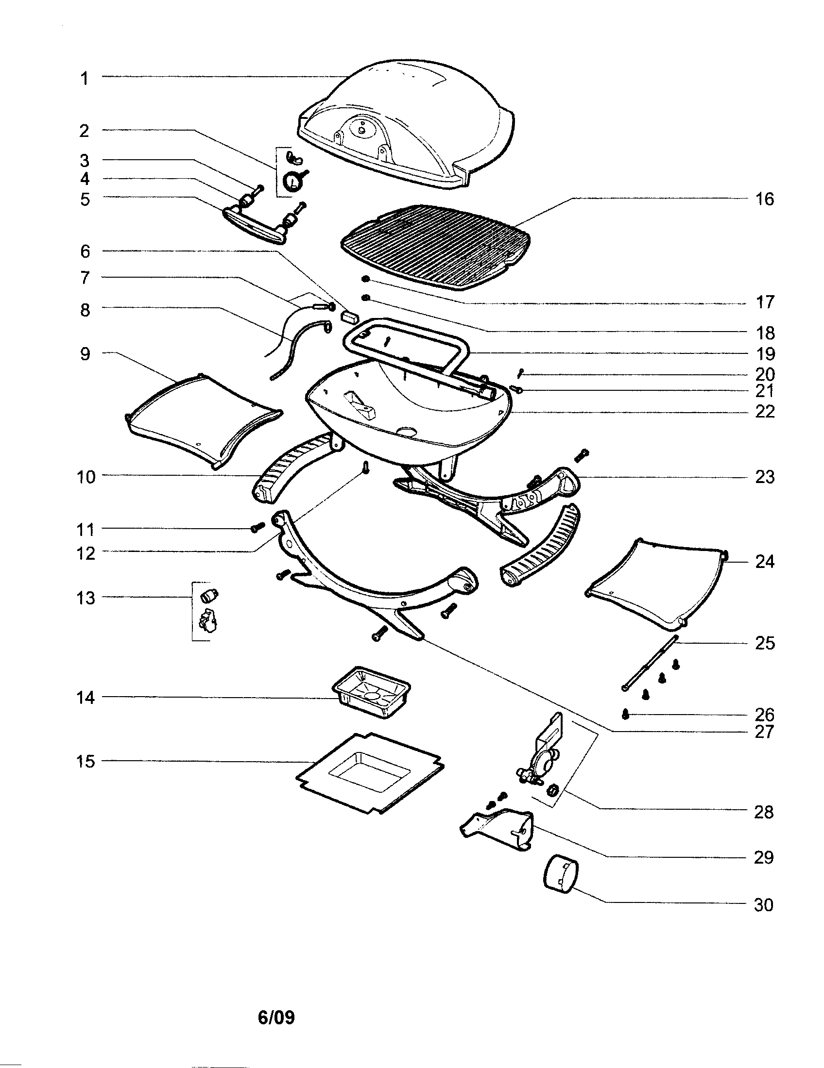 weber grill instruction booklet