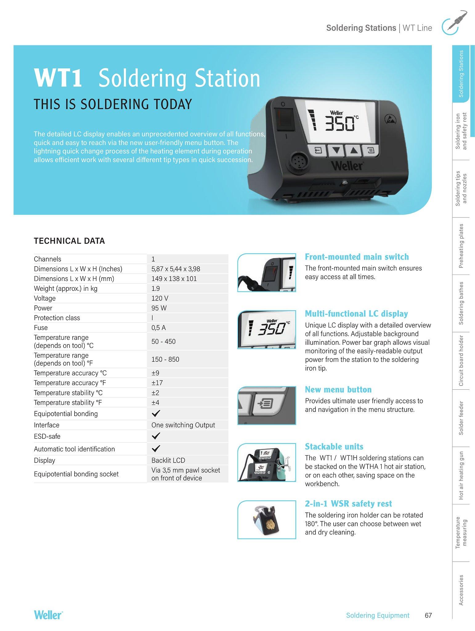 weller soldering iron kit instructions