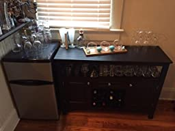 winsome wood jasper storage buffet assembly instructions